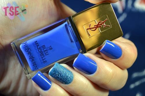 Bleu Majorelle & Sand III