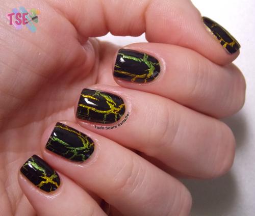 Nail art craquelada 2