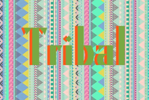 tribal copy