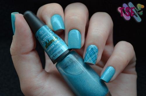 Blue Nails II