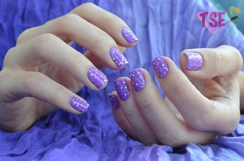 Violet Nails IV
