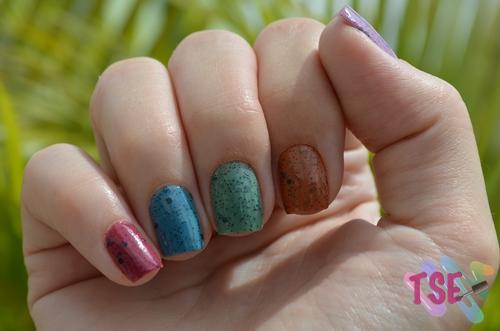Rainbow Glitters VI